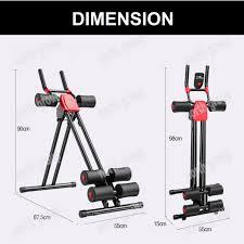 ab glider roller slider abdominal abs cruncher exercise machine