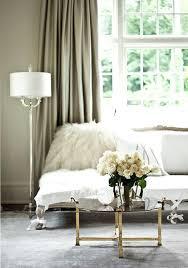 long white french bedroom settee design ideas