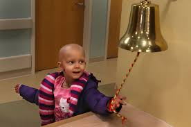 rings bell images Ringing the bell to signal end of cancer treatment at st louis jpg