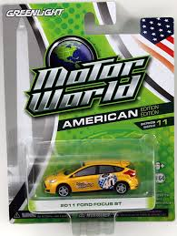 lego ford focus amazon com greenlight motor world series 11 2011 ford focus st