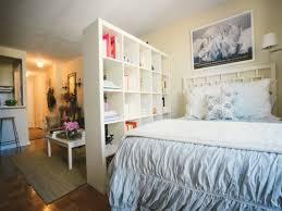 beautiful studio apartment design ideas with bookcase room create