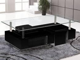 Table Salon Moderne by Table Basse Design Verre Table Basse Ronde Design Deux Plateaux