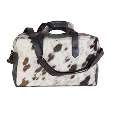 Cowhide Overnight Bag Found Object Cowhide Weekenders Gym Bags Touch Of Modern