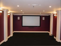 theatre room cheap chic movie theater room decorating ideas on
