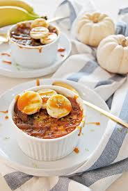 Large Creme Brulee by Banana Creme Brulee With Caramel Rum Sauce The Charming Detroiter