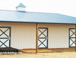 Metal Pole Barns Metal Horse Barn Construction Falcon Co U2013 All Specialty