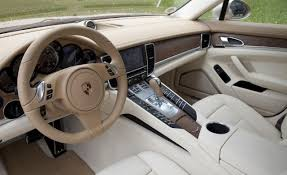 white porsche red interior car picker porsche panamera interior images