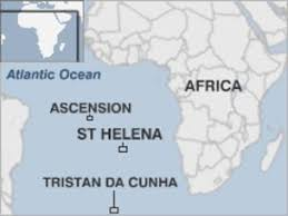 ascension islands map charles darwin s ecological experiment on ascension isle news