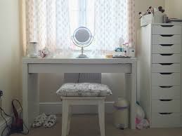 Ikea White Vanity Table Makeup Desk Ikea Alex Malm Dressing Table 1024x769 Homeware Haul