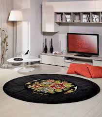 Modern Circular Rugs Italian Collection Modern Circular Giotto Folk Rug