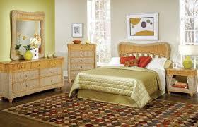 dreamy natural wicker bedroom furniture u2014 derektime design
