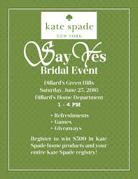 dillard bridal upcoming event say yes bridal event at dillard s the pink