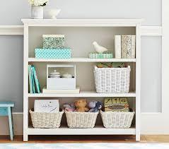 White Tall Bookcase Cameron 3 Shelf Bookcase Pottery Barn Kids