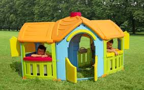 giardino bambini casetta da giardino per bambini cottage cp1395 misure cm 213 x 130