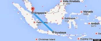 airasia flight from indonesia to singapore loses contact with air