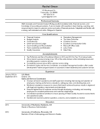 Word Resume Template 2014 Astounding 24 Best Finance Resume Sample Templates Wisestep Bank