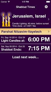 shabbat times no matter where you are in the world