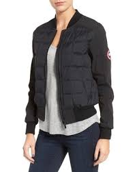 light bomber jacket womens sale women s canada goose hanley quilted down bomber jacket