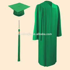 green cap and gown matte emerald green cap and gown graduation cap and gown