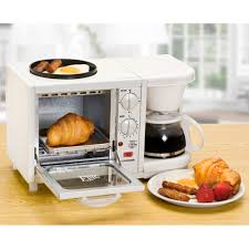 elite cuisine elite cuisine ebk 200 3 in 1 breakfast center coffee toaster oven
