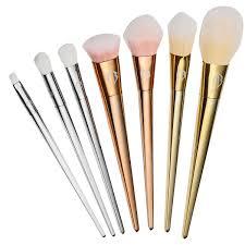 makeup brushes 7 set gold u2013 jstbest u2013 just best goods for u