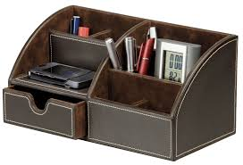 Desk Organizer Leather Archive With Tag Black Leather Desk Organizer Voicesofimani