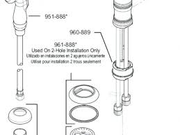standard kitchen faucet parts diagram faucet standard bathtub faucet parts diagram moen