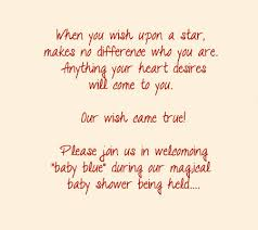 5 lovely examples of wording for your shower invites disney baby