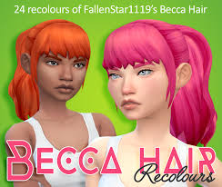 sims 4 hair cc the sims 4 maxis match cc august cas sims community