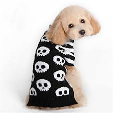 pet sweaters amazon com nacoco pet sweaters skeleton sweater the cat