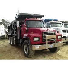 mack trucks for sale 1999 mack rd6885 tri axle dump truck