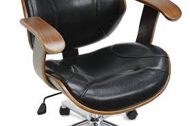 Office Chair Covers Amazon Amazon Com Baxton Studio Rathburn Modern Office Chair Walnut