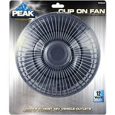 12 volt clip on fan american motorhome rv 12 volt clip on oscillating black fan ebay