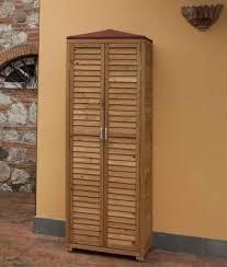 armadi in legno per esterni armadi armadi per esterni in legno onlywood letti e armadi