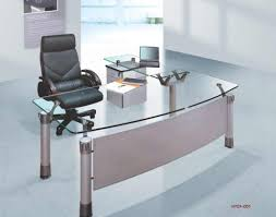 Esquire Glass Top Reception Desk Awful Impression Cpu Desk Modern Short Corner Desk From Gray