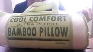 Bamboo Pillow Hotel Comfort Bamboo Pillow Cool Comfort Ultra Plush Bamboo Memory Foam Hotel