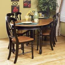 espresso dining room set honey espresso 7 set kitchen furniture dining room
