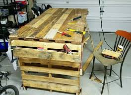 diy pallet work table simple wooden pallet work bench ideas pallets designs