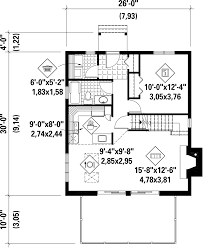 Floor Plans For A Cabin Cabin Style House Plan 3 Beds 1 00 Baths 1083 Sq Ft Plan 25 4311