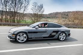 slammed audi a7 audi u0027s autonomous a7 prototype tested autocar