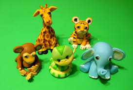 safari cake toppers baby shower or birthday safari jungle animals cake topper