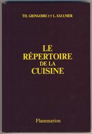 de la cuisine la repertoire de la cuisine by gringoire th saulnier l abebooks