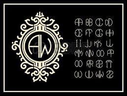Create Monogram Initials 2 710 Monogram Initials Stock Vector Illustration And Royalty Free