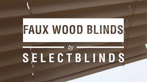 Select Blinds Ca Faux Wood Youtube