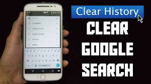 clear history android how to clear search history on android 2017