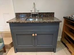 stand alone kitchen sink unit oak freestanding kitchen sink unit with granite top and