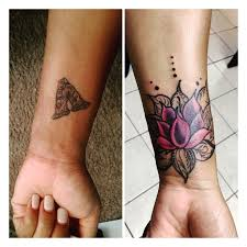 image result for mandala cover up wrist tattoo hamsa tattoo
