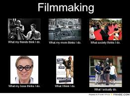 Film Memes - frabz filmmaking what my friends think i do what my mom thinks i do