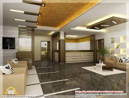 3d interior home design beautiful 3d interior office designs kerala home design and