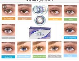 freshlook color contacts color chart choice image free any chart
